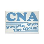 CNA Sweatin' With The Oldies Rectangle Magnet (100