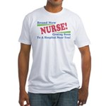 Brand New Nurse Student Fitted T-Shirt