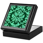 Verdant Damask Keepsake Box
