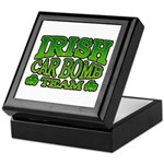 Irish Car Bomb Team Shamrock Keepsake Box