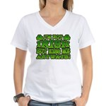I'm Not Irish but Kiss Me Anyways Shamrock Women's