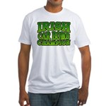 Irish Car Bomb Champion Shamrock Fitted T-Shirt