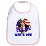 Uncle Infidel Wants You Bib