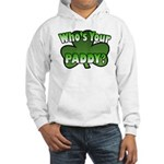 Shamrocks in Shamrock Shamrock Hooded Sweatshirt