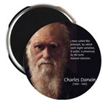 "Charles Darwin: Evolution 2.25"" Magnet (10 pack)"