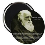 "Charles Darwin: Science 2.25"" Magnet (10 pack)"