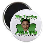 "Obama My Lucky Charm 2.25"" Magnet (100 pack)"