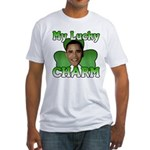Obama My Lucky Charm Fitted T-Shirt