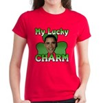 Obama My Lucky Charm Women's Dark T-Shirt