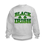 Once You go Irish You Never Go Back Kids Sweatshir