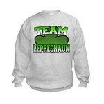 Team Leprechaun Kids Sweatshirt