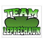 Team Leprechaun Small Poster
