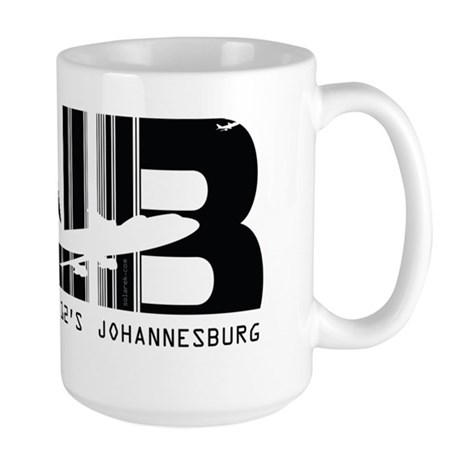 Johannesburg South Africa JNB Air Wear Large Mug