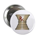 """Pharmacy Trophy 2.25"""" Button (10 pack)"""