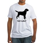 Got Labs? Fitted T-Shirt