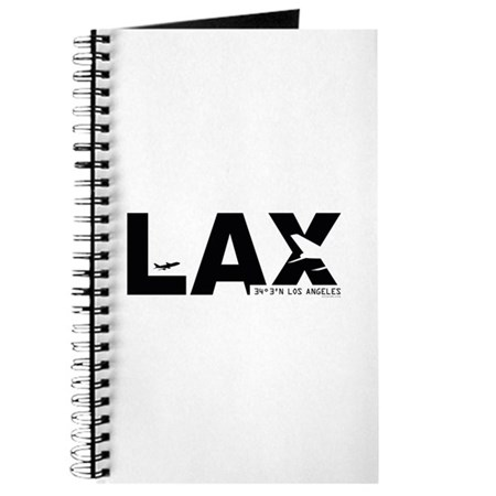 Los Angeles Airport LAX Black Des. Journal