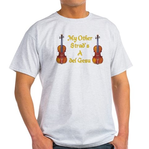 Stradivarius and Guarnari Violin Shirt