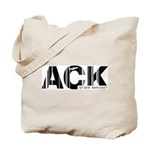 Nantucket Massachusetts ACK Airport Tote Bag