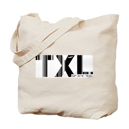 Berlin Tegel Airport Code Germany TXL Tote Bag