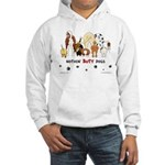 Dog Pack AKC Breeds Hooded Sweatshirt