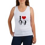 I Heart Obama Biden Women's Tank Top