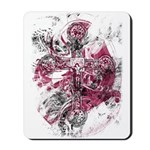 """Blood on the Cross"" Mousepad"