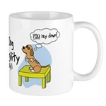 Refusing Down Agility Mug