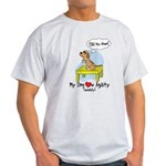 Refusing Down Agility Light TShirt (Humor)