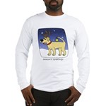 Reindeer Yellow Lab Long Sleeve T-Shirt