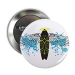 """Surf Angel: Tribe"" 2.25"" Button (10 pack)"