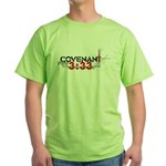 """Covenant: Curse of the Lord"" Green T-Shirt"