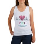 PICU Keeping the beat all day Women's Tank Top