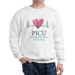 PICU Keeping the beat all day Sweatshirt