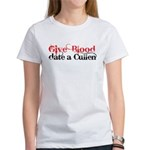 Give Blood Date a Cullen Women's T-Shirt