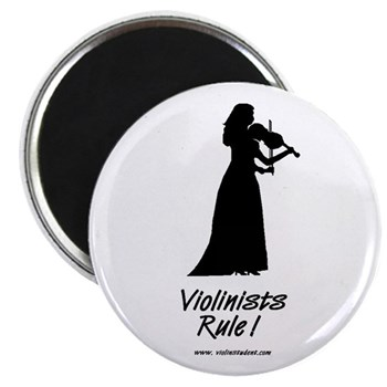 Lady Violinists Rule Magnet