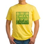 Twilight Forks Yellow T-Shirt