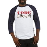 Code Brown! Baseball Jersey