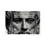 Greek Philosophy: Aristotle Rectangle Magnet (10 p