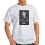 Irish Idealist: George Berkeley Ash Grey T-Shirt