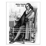 Mathematics: Blaise Pascal Small Poster