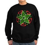 Celtic Christmas Star Sweatshirt (dark)