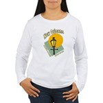 Mardi Gras Women's Long Sleeve T-Shirt