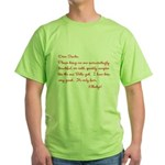 Twilight Edward Christmas Green T-Shirt