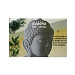 Eastern Philosophy: Buddha Rectangle Magnet