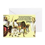 Eastern Thought: Confucius Greeting Cards (Package