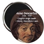 "Philosopher Rene Descartes 2.25"" Magnet (10 pack)"