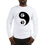 Yin Yang Paws Long Sleeve T-Shirt