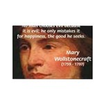 Feminist Mary Wollstonecraft Rectangle Magnet