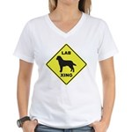 Labrador Xing Women's V-Neck T-Shirt
