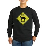 Labrador Xing Long Sleeve Dark T-Shirt